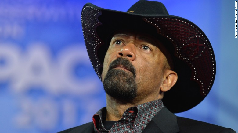 David Clarke says he's joining Trump administration