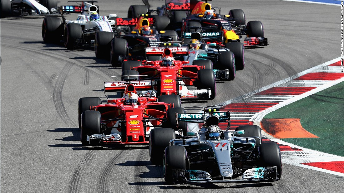 Bottas qualified in third place for the Russian Grand Prix behind pole sitter Sebastian Vettel and his Ferrari teammate Kimi Raikkonen but overtook both men at the start of the first lap.