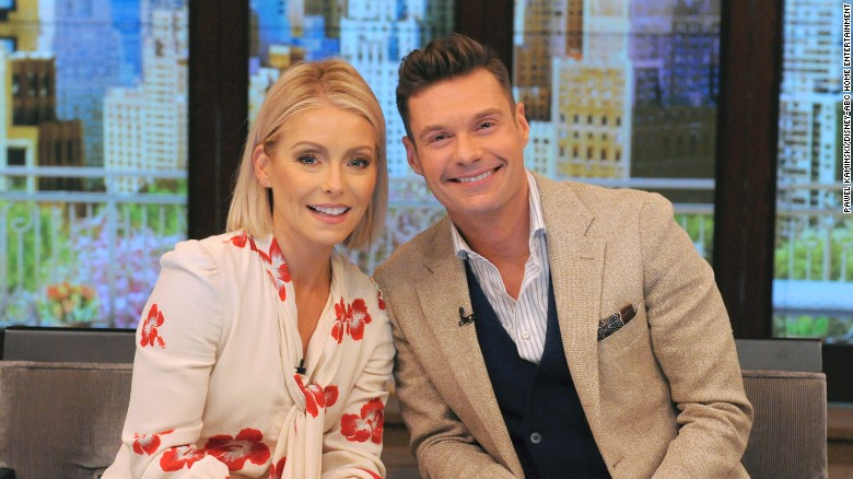 Ryan Seacrest nearly cries as he gushes over Kelly Ripa