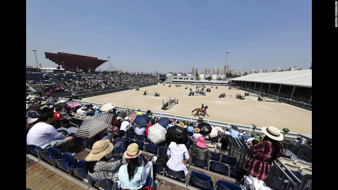 "The LGCT became the first international equestrian event to be held in mainland China in 2014. Since then, showjumping has <a href=""http://www.cnn.com/videos/sports/2017/04/28/longines-global-champions-tour-global-champions-league-shanghai-preview-cnn-eq-spc.cnn"" target=""_blank"">proved popular</a>, both as a sport and a social occasion."