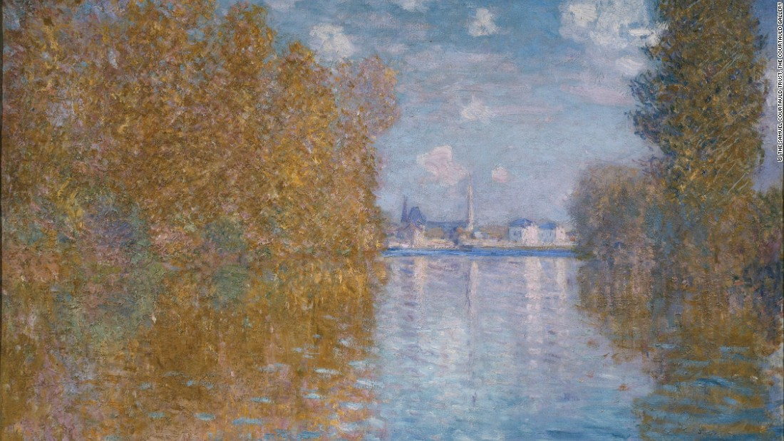 Autumn Effect at Argenteuil, by Claude Monet. Courtesy The Samuel Courtauld Trust.
