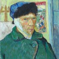 Self-Portrait with Bandaged Ear - Vincent Van Gogh