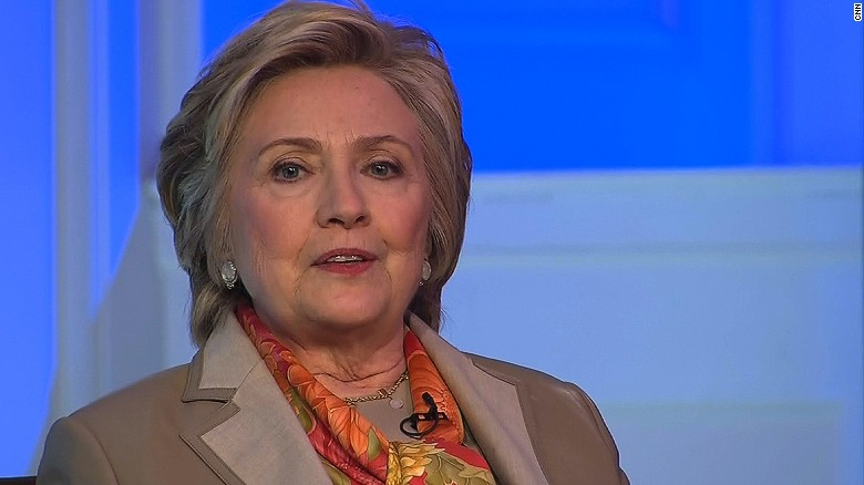 Clinton: Misogyny played a role in election
