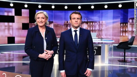 Macron fends off Le Pen in ill-tempered French presidential debate