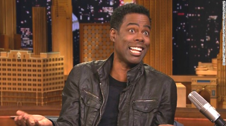 Chris Rock's awkward run-in with Michelle Obama