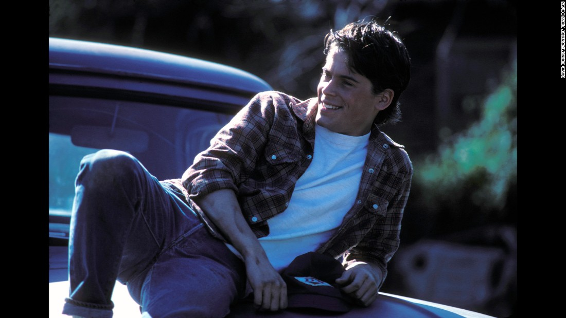 "Lowe played Sodapop Curtis in ""The Outsiders,"" an adaptation of S.E. Hinton's classic novel. He was just 19 when the film was released. ""No one really had heard of any of these young actors,"" said David Burnett, who was a special photographer on set. ""It was really the beginning of everybody's career."""