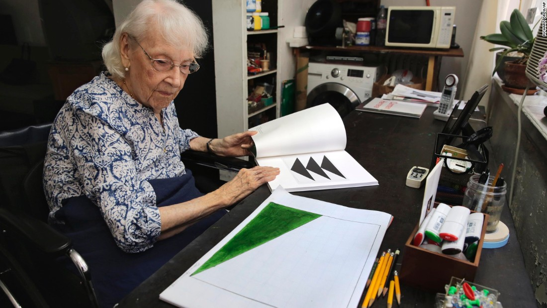 <strong>Carmen Herrera, born 1915: </strong>Cuban-American artist Herrera is an abstract minimalist painter. Now over 100 years old, Herrera says she's still bursting with ideas she wants to put on canvas.