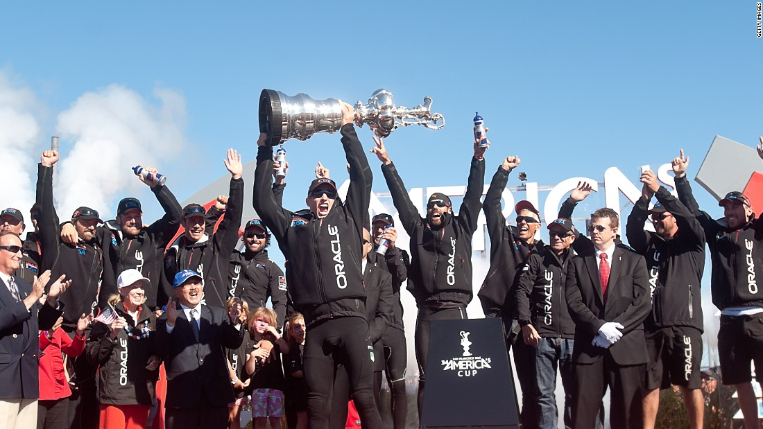 Skippering Oracle Team USA in the 34th America's Cup, Spithill and his crew were 8-1 down to Emirates Team New Zealand after nine races and staring down the barrel of defeat.
