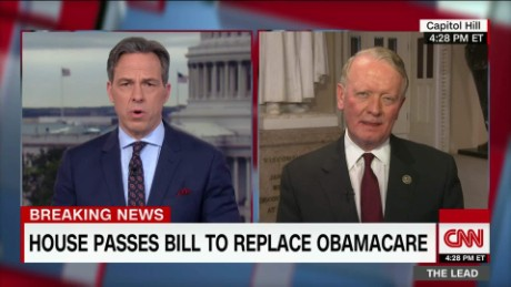 gop no vote reacts health care bill passing house congressman leonard lance the lead_00001019