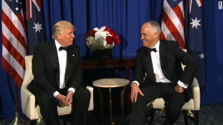 Mixed reaction to Trump, Turnbull meeting