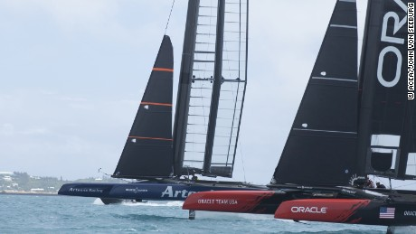 Artemis have been setting the pace in practice racing in Bermuda.