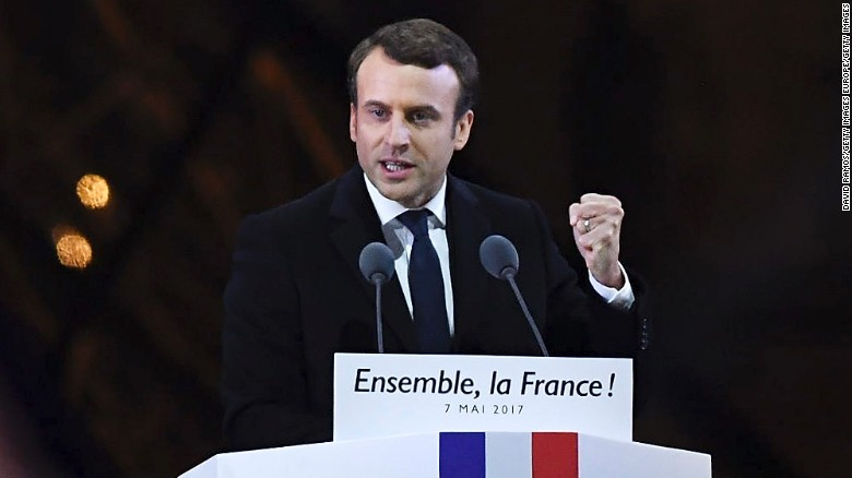 Macron: Political novice to French president