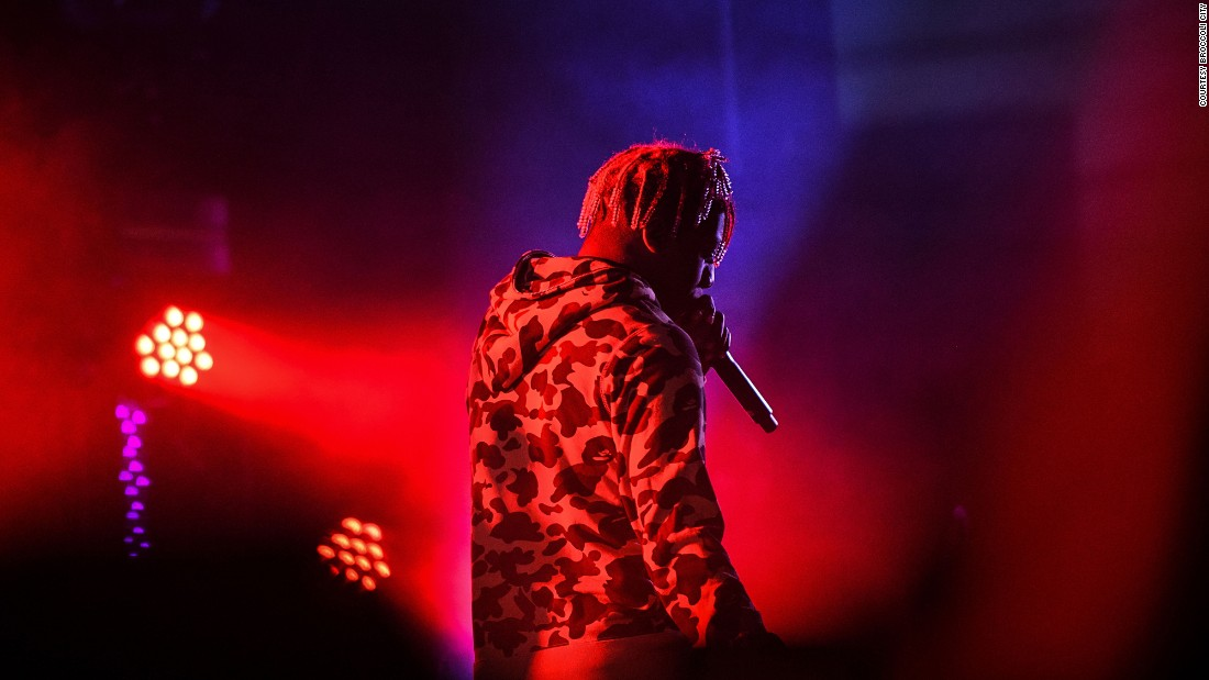 Rapper Lil Yachty performs on the City Stage.