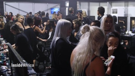 Inside Africa Cape Town fashion show behind the scenes B_00015718
