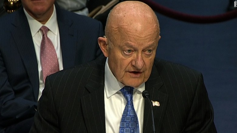Clapper: Putin sought to advantage Trump
