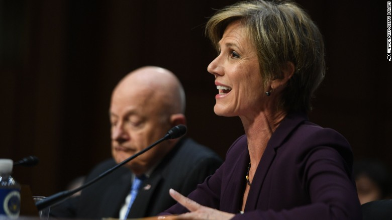 Yates: Flynn vulnerable to blackmail