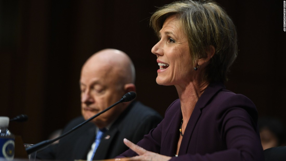 Five things we learned from the Sally Yates hearing