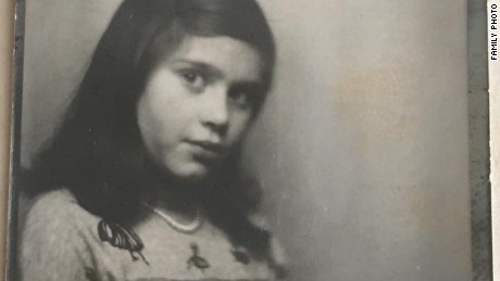 My mother in 1953, when she was 10.