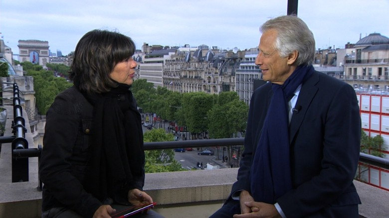 Dominique de Villepin: France can 'write a new page'
