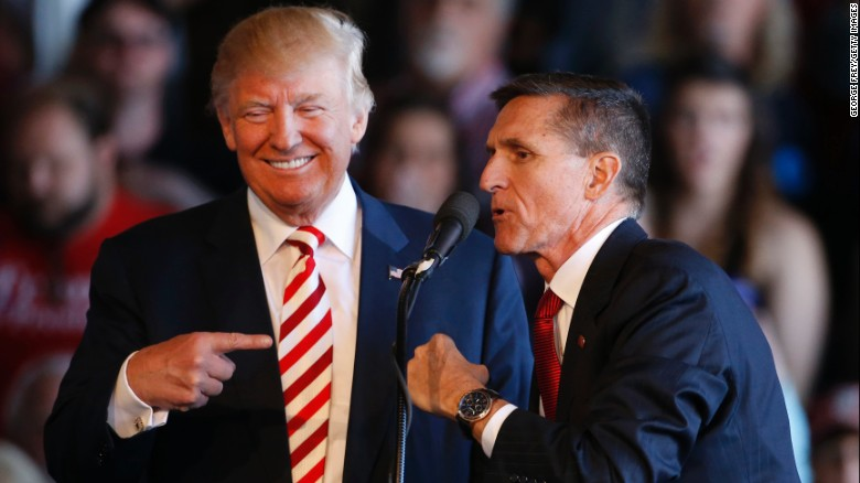 Pardon for Michael Flynn under discussion at the White House