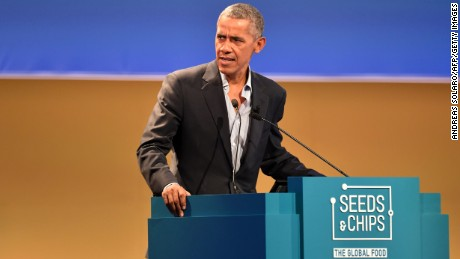 Obama returns to spotlight to speak up on climate change