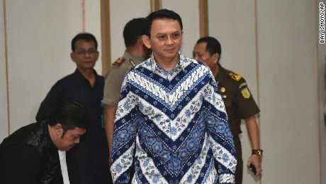 Jakarta governor gets two years for blasphemy
