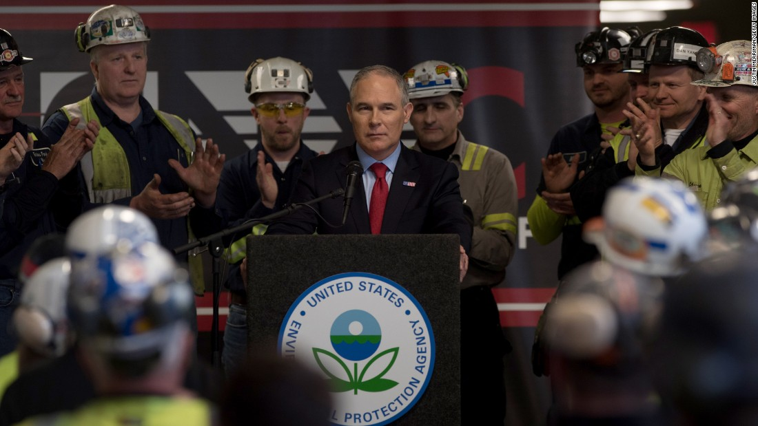 Pruitt suggests climate change could benefit humans