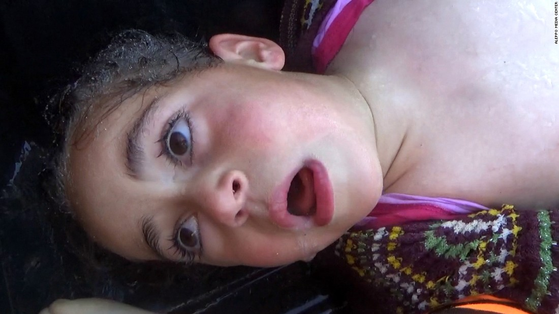 Gasping for life: Syria's merciless war on its own children