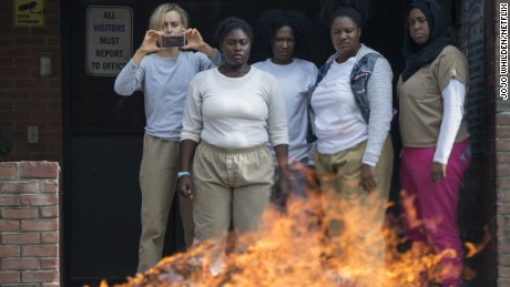 A scene from 'Orange Is The New Black' Season 5