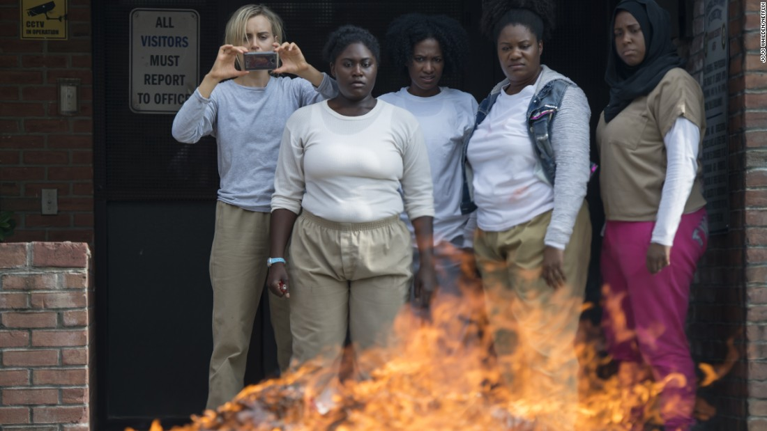'Orange Is The New Black' won the SAG Award for outstanding performance by an ensemble in a comedy last year and its nominated again this time around.