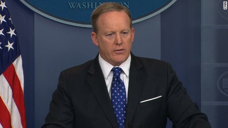 Sean Spicer's explanation for why it took 18 days to fire Flynn defies the space-time continuum