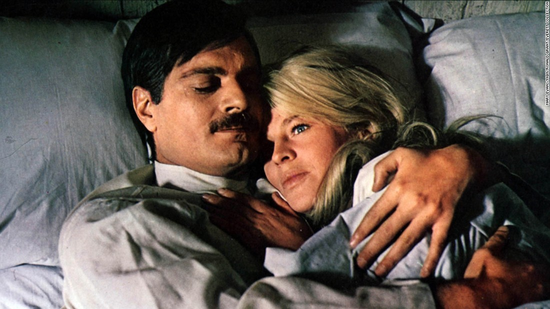 "In the 1965 epic romance ""Doctor Zhivago,"" Omar Sharif's Yuri Zhivago falls in love with Julie Christie's Lara Antipova in an ill-fated romance that spans decades."