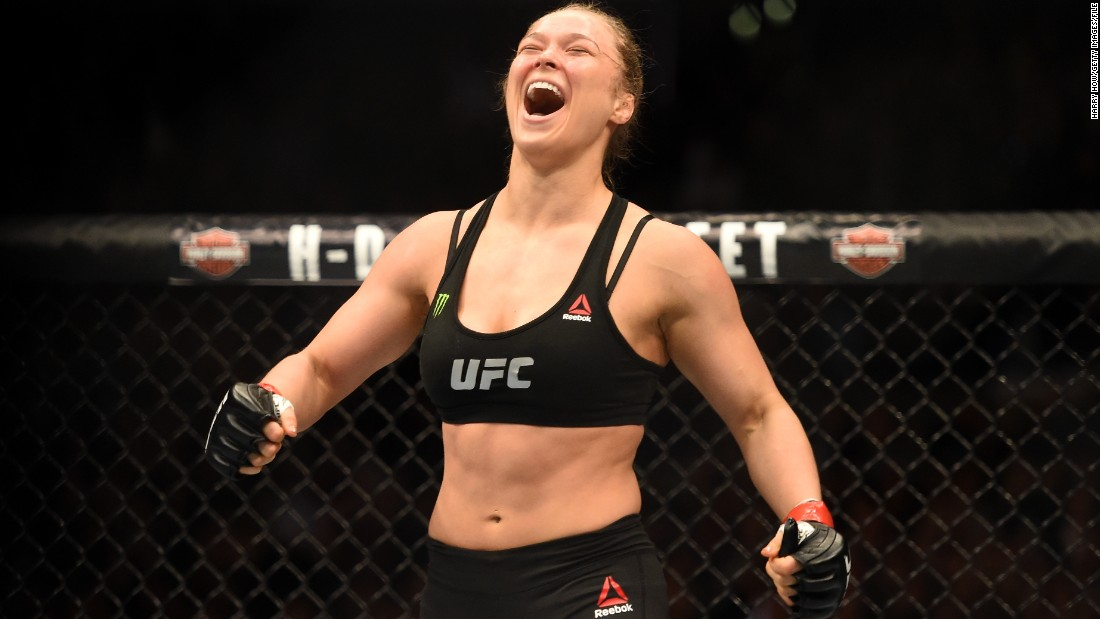 Rousey is credited by UFC boss Dana White as being one of the main reasons behind the growth of mixed martial arts.