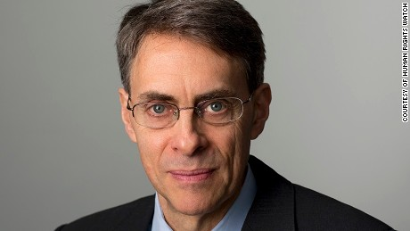 Kenneth Roth, executive director of Human Rights Watch.