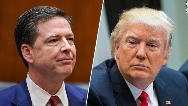 Trump's up and down relationship with Comey