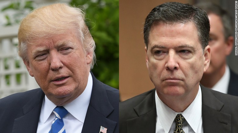 Trump: Comey said I wasn't under investigation