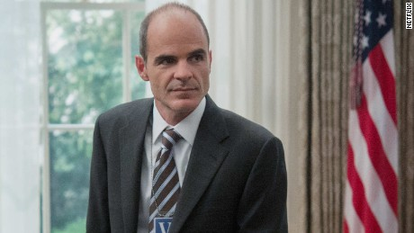 Michael Kelly in 'House of Cards'