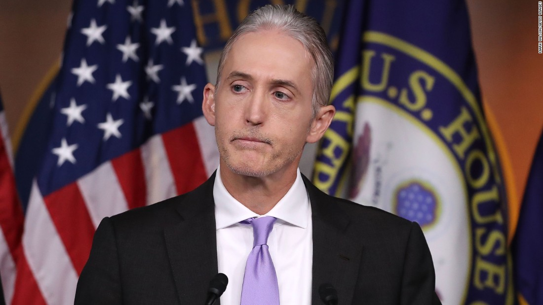 Rep. Trey Gowdy stepped down from the House Ethics Committee this week after five years of serving on the panel.