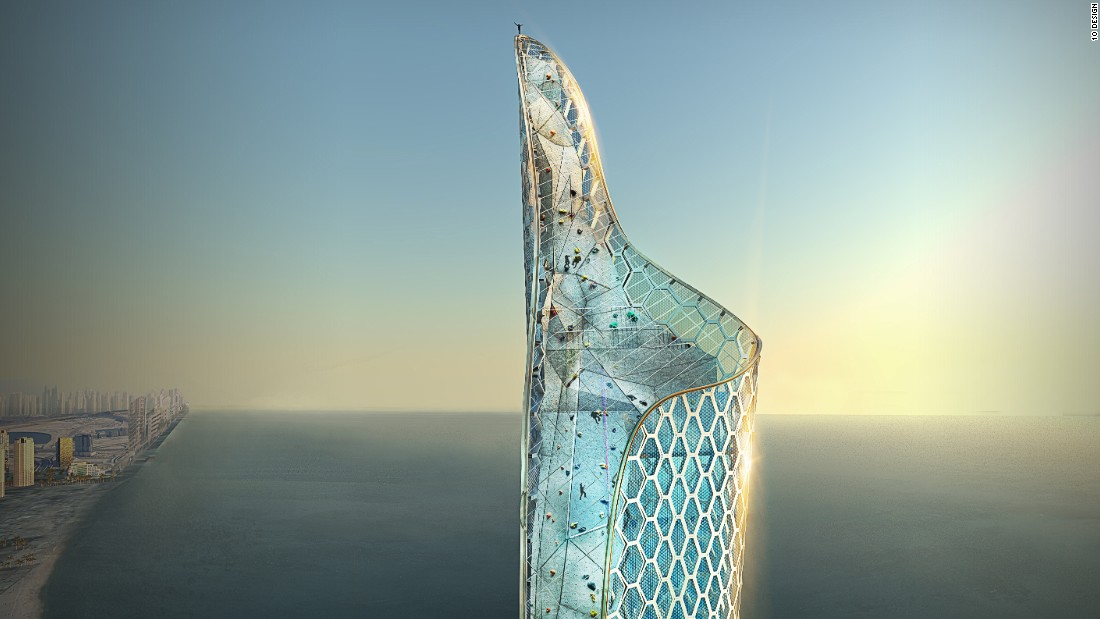 Dubai's status as a destination for adrenaline junkies could soon reach new heights with the proposal for a giant BASE jump tower on the waterfront. Over 1,000 feet high, architecture firm 10 Design hopes the concept will shape the city's skyline for years to come.<br />