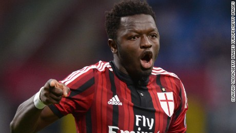 Muntari has played for a number of Italian clubs, including AC Milan.