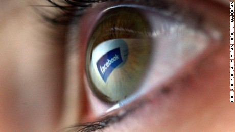 LONDON - FEBRUARY 03:  In this photo illustration the facebook logo is reflected in the eye of a girl on February 3, 2008 in London, England.  Financial experts continue to evaluate  the recent Microsoft $44.6 billion (?22.4 billion) offer for Yahoo and the possible impact on Internet market currently dominated by Google.  (Photo by Chris Jackson/Getty Images)