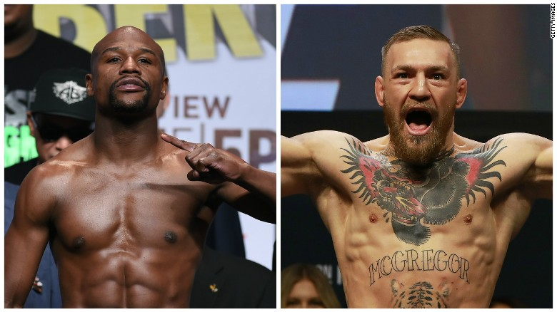 It's on! Mayweather to fight McGregor
