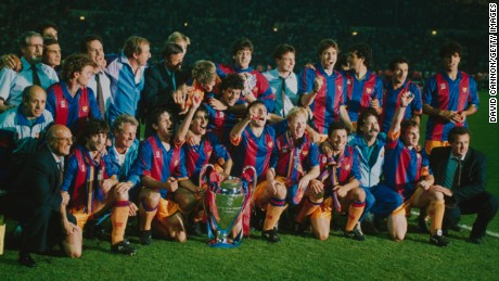 Cruyff's Dream Team won four successive league titles between 1990 and 1994