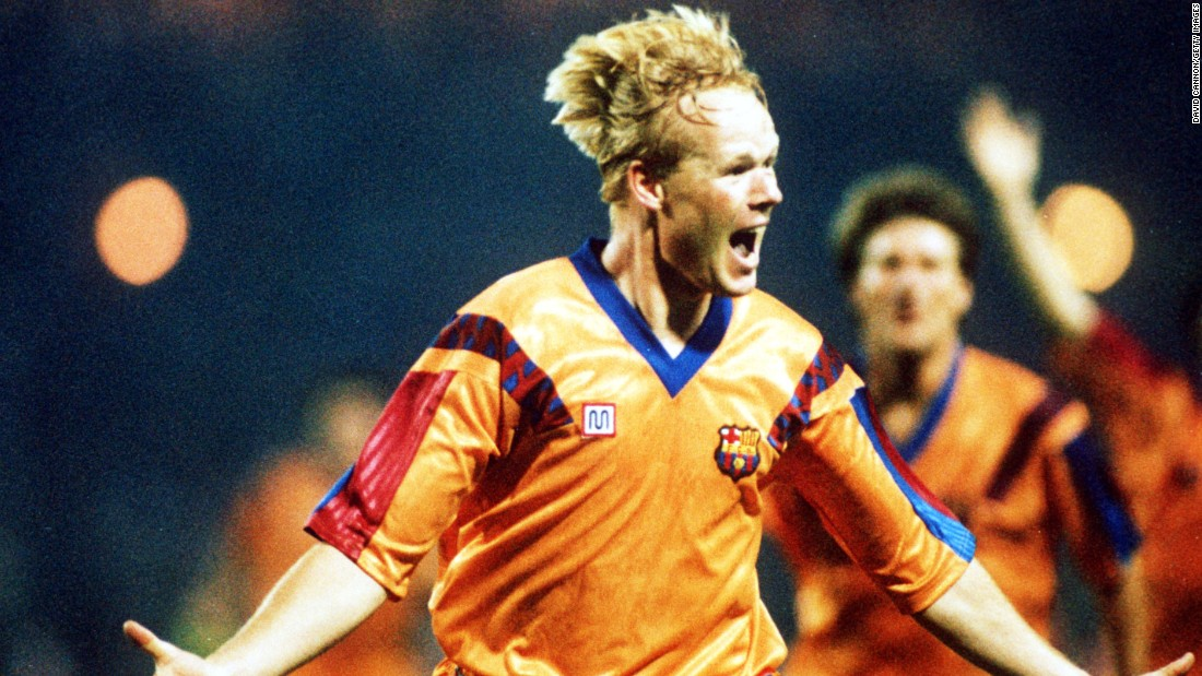 Koeman scored 102 goals in 354 games during his career