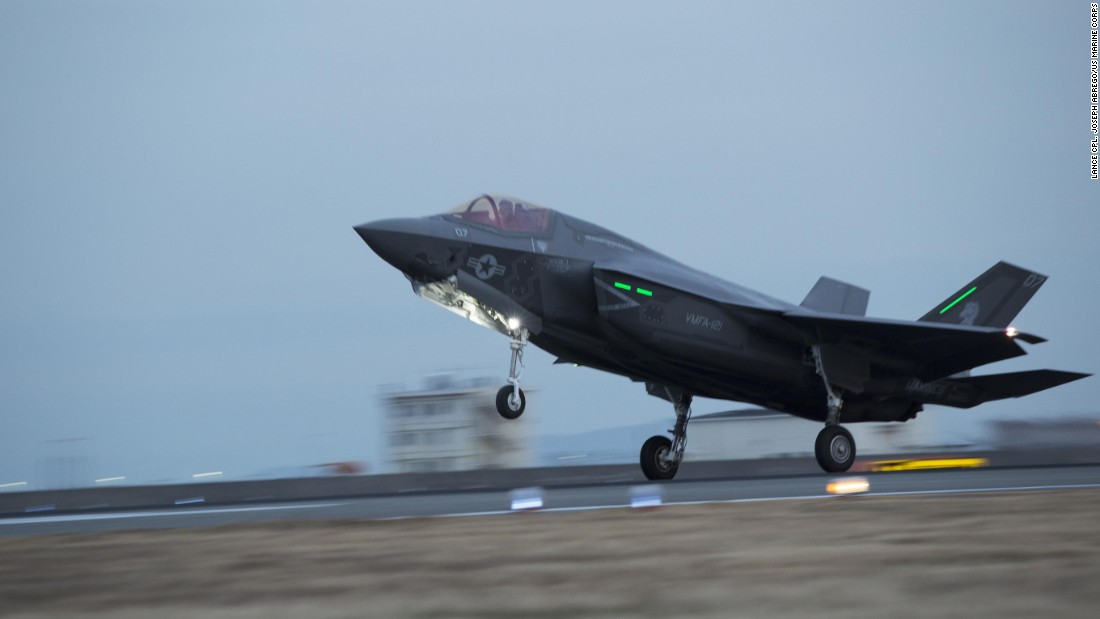 Trump claims F-35s flew over Japan undetected: 'Pretty cool, right?'
