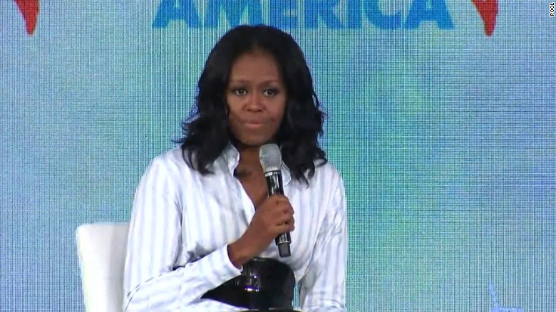 Michelle Obama: Food isn't political