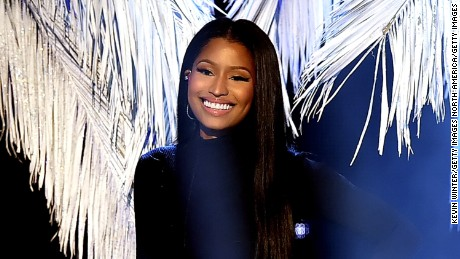 Singer Nicki Minaj performs during the 2016 American Music Awards on November 20, 2016 in Los Angeles.