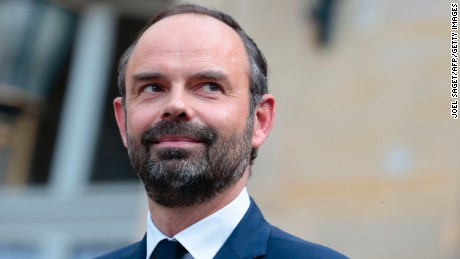 Macron chose Philippe in a bid to woo republican support.