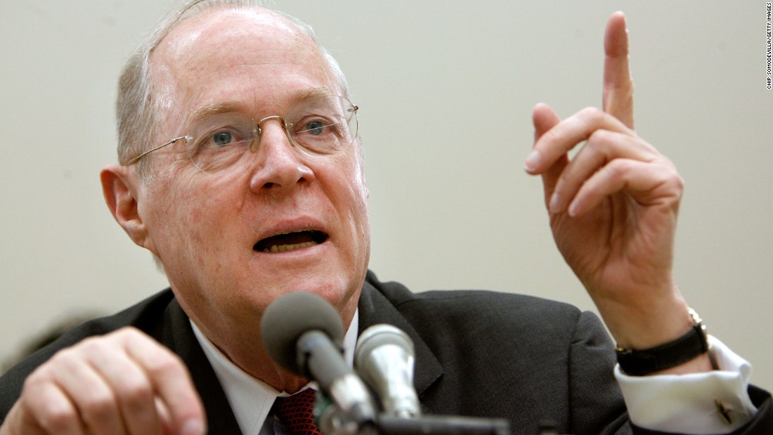 Kennedy testifies before a House subcommittee in March 2007. He and fellow Justice Clarence Thomas spoke about concerns with the ongoing remodeling of the court building, the reduction of paperwork due to electronic media, and the disparity of pay between federal judges and lawyers working in the private sector.