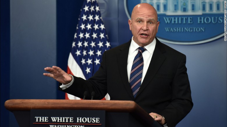 McMaster asked if Western Wall is in Israel